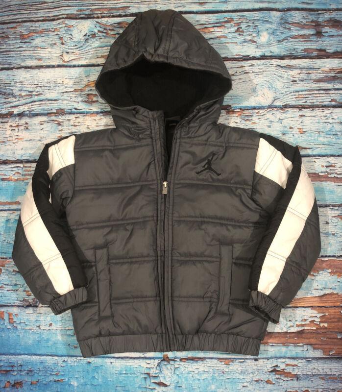 Baby Toddler Jordan Jacket Coat Size 6T Gray And Black Warm Nice