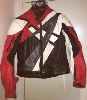 Leather Motorcycle Jacket Rjays