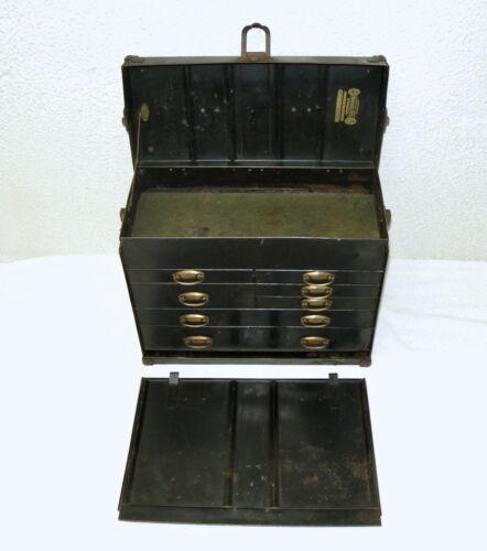 Antique KENNEDY KITS 515 Machinist Tool Box, 7-Drawer, Circa 1925