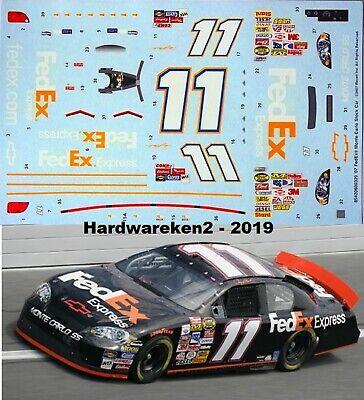 NASCAR DECAL #11 FedEx EXPRESS 2007 MONTE CARLO D. HAMLIN 1/24