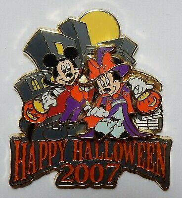 Happy Halloween Nyc (Disney Pin 56680 WOD NYC - Happy Halloween 2007 - Mickey &  Minnie)