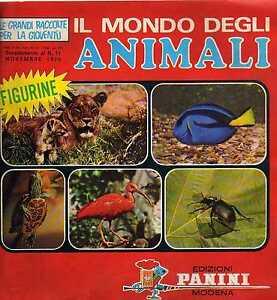 album-PANINI-IL-MONDO-DEGLI-ANIMALI-1970-Figurina-new-sticker-numero-319