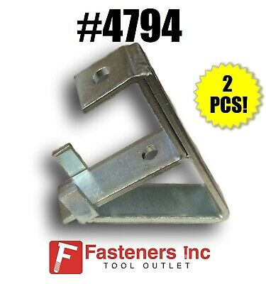 4794 P1075 Support Bracket For Single 1-58 Unistrut B-line Channel Qty. 2