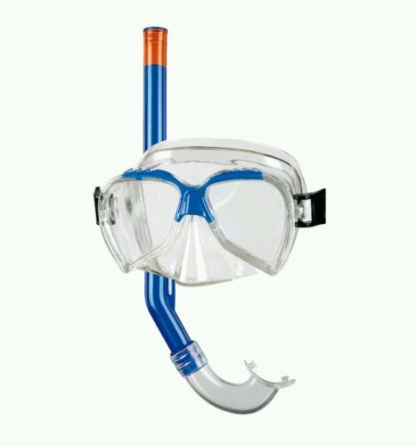 Kinder Schnorchelset Taucherbrille + Schnorchel Beco 99004 ab 4 Jahren Blau