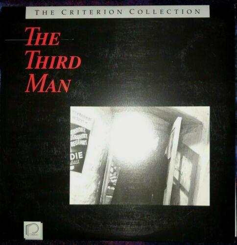 The Third Man: Criterion Laserdisc 5 Carol Reed