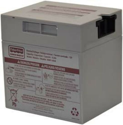 Power Wheels 12 volt BATTERY 00801-1869 Grey Genuine 12v FREE SHIPPING