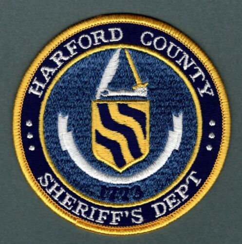 Harford County Maryland Sheriff Police Patch