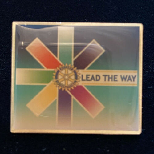 Rotary International Pin LEAD THE WAY 2006-07 Theme
