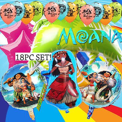 MOANA LUAU TROPICAL Birthday Balloons Party Latex Balloon SUPPLY HAWAII ALOHA](Latex Aloha)