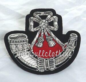 Rotulador-Infanteria-Hilo-Bordado-Lingote-Blazer-Insignia-Ejercito-Britanico