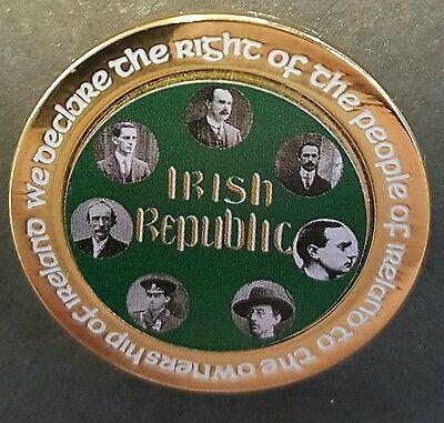 Irish Republic signatories easter Rising pin badge Republican Ireland celtic IRA