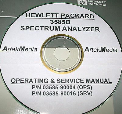 Hp 3585b Service Operating Manuals 3 Volumes