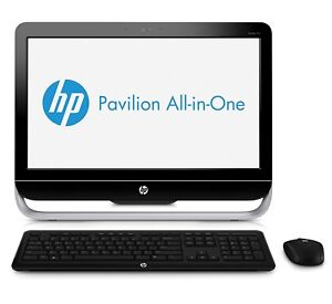 Hp all in one computer.