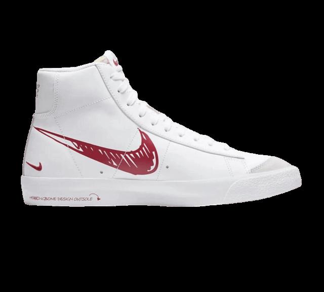 10 Nike Bazer White