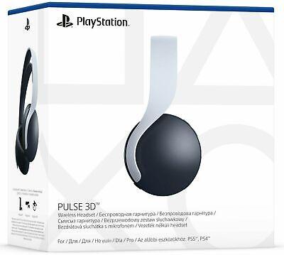 Sony PULSE 3D Wireless Sony PS5 Headset - White