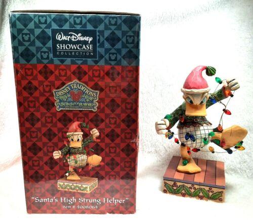 "Jim Shore Disney Donald Duck Figure ""Santa"