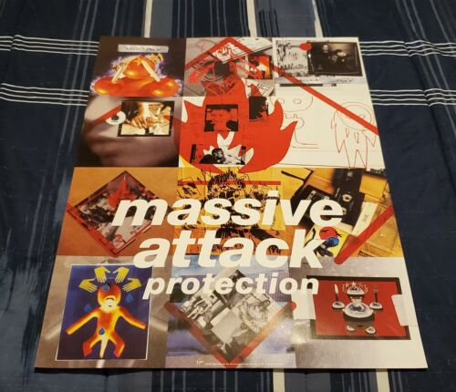 MASSIVE ATTACK - PROTECTION - 1994 VIRGIN RECORDS / EMI MUSIC CANADA POSTERS