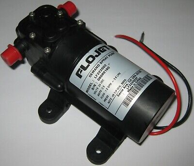 Flojet Lf222 Self Priming On Demand Water Spray Pump - 24 V Dc - 35 Psi 1.0 Gpm