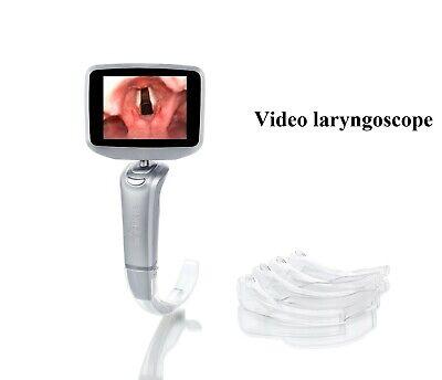 Video Laryngoscope 4 Mac Blade Intubation Portable Disposable Kit Airway C W