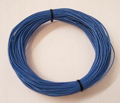 125 Feet--26 Gauge Silver Plated Stranded Copper-blue Teflon Sheath-hookup Wire