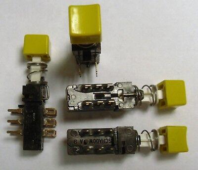 Dpdt 6a Pushbutton Switch - Schadow 149