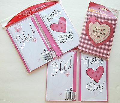 Valentine's Day Cards American Greetings 3 styles - 24 cards NWT Love Friendship