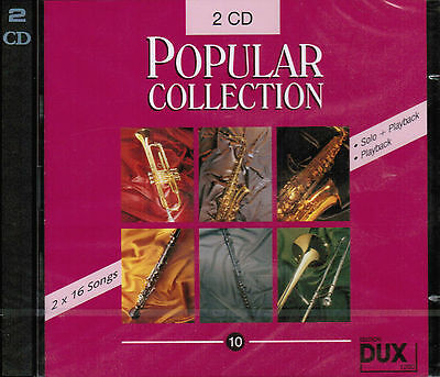 Playalong Playback CD zu : Popular Collection 10 (2 CDs) (für alle Instrumente)