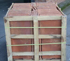 Handmade Terracotta Floor Tiles 340x340x23mm (Price for m2)