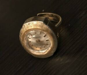 Unique and classic! Vintage ring watch.
