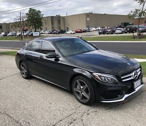 2018 Mercedes C300 4Matic lease takeover