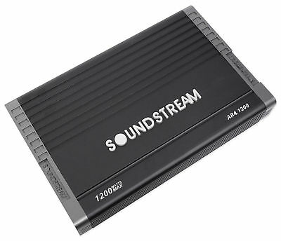 Soundstream Ar4 1200 Arachnid 1200 Watt 4 Channel Amplifier Car Audio Amp