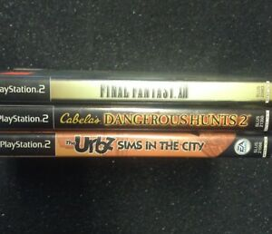 PS2 Game lot - 3 games for $10 or $5 each separate