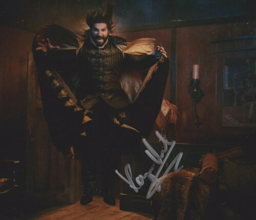 Kayvan Novak Signed What We Do In The Shadows 10x8 Photo AFTAL