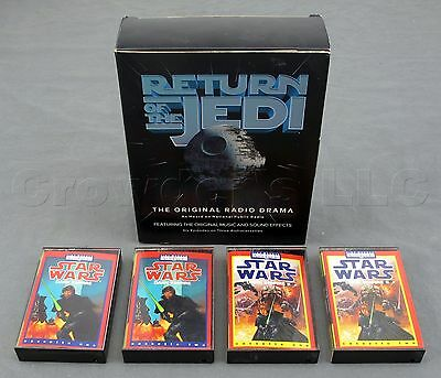 Star Wars Return of the Jedi & Dark Empire Audio Cassette Tape Box & Cases Only Dark Empire Audio