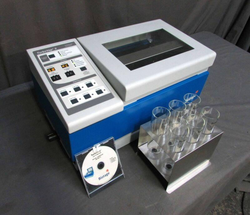 Biotage 103187 TurboVap Classic II Automated Evaporation System; 6X 200ML