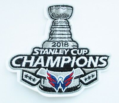 1  Lot Of  1  2018 Stanley Cup Champion Washington Capitals Patch   91