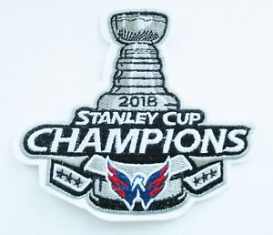 (1) LOT OF (1) 2018 STANLEY CUP CHAMPION WASHINGTON CAPITALS PATCH # 91