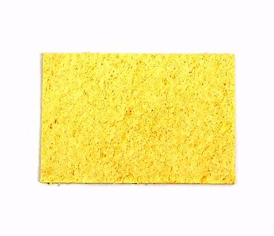 50pc Sponges For Soldering Iron 62x41x2mm Before Swelling Kote Taiwan