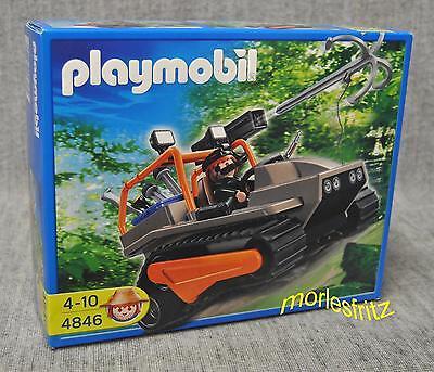 Playmobil 4846 Schatzräuber-Kettenraupe mit Kanone - Schatzjäger Neu