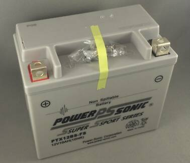 New Motorbike ATV Jet Ski Battery Power-Sonic PTX12BS-FS Sealed