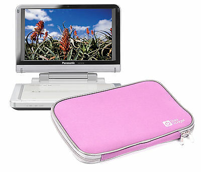 """10"""" Carry Sleeve/Case/Cover/Pouch For Panasonic DMP-B100 Portable DVD Players"""