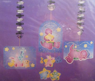 Barney Birthday Decorations (DesignWare Barney for Baby Happy 1st Birthday Little One Party Decorations)