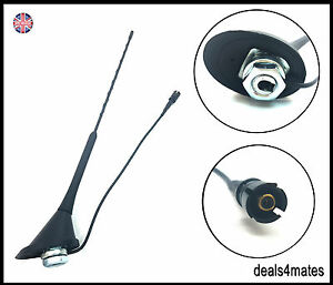 AM/FM AERIAL ANTENNA ROOF MAST BASE FOR VW POLO GOLF JETTA BORA PASSAT GTI