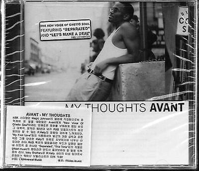 Avant - My Thoughts UNIVERSAL 2001 USA Audio CD SEALED