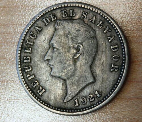 1921 El Salvador 10 Centavos
