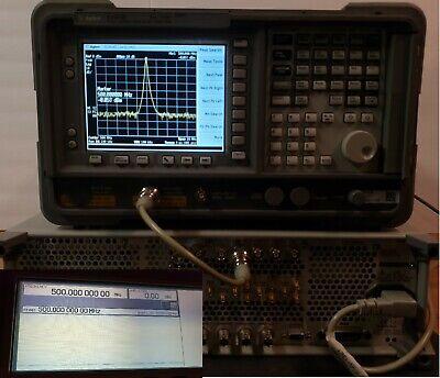 Hp Agilent Keysight E4403b 9khz-3.0ghz Esa-l Spectrum Analyzer