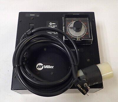 Miller Spot Welder Timer Lf-40 220 Volts 1 Ph 5060 Hz Eagle Signal Cycl-flex