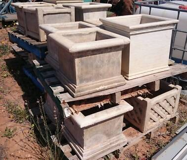 large concrete pots ready to go Lyrup Renmark Paringa Preview