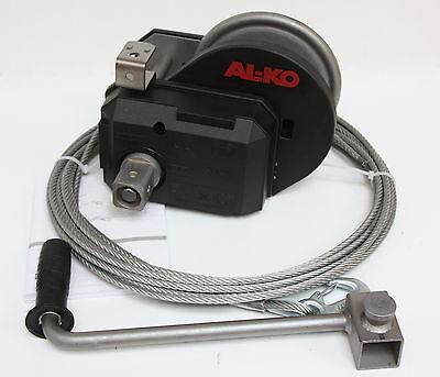 Alko Optima Cabrestante 901-A Con Cable Abrollautomatik Torno de la Mano Manual