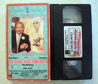 VHS: La Cage Aux Folles 3 III: The Wedding: English (La Cage Aux Folles 3 The Wedding)